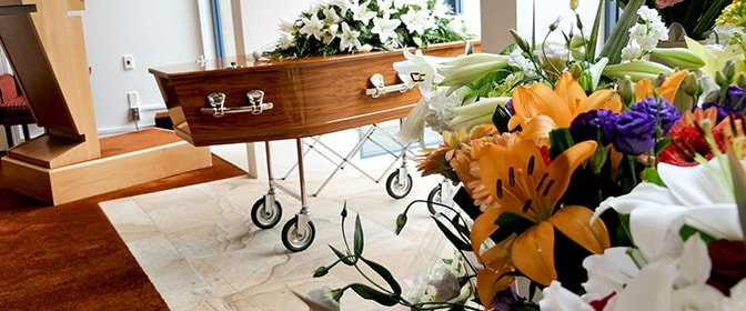 Burial Services - Burial package plus your choice of venue