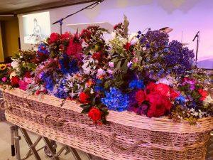 Funeral flowers -